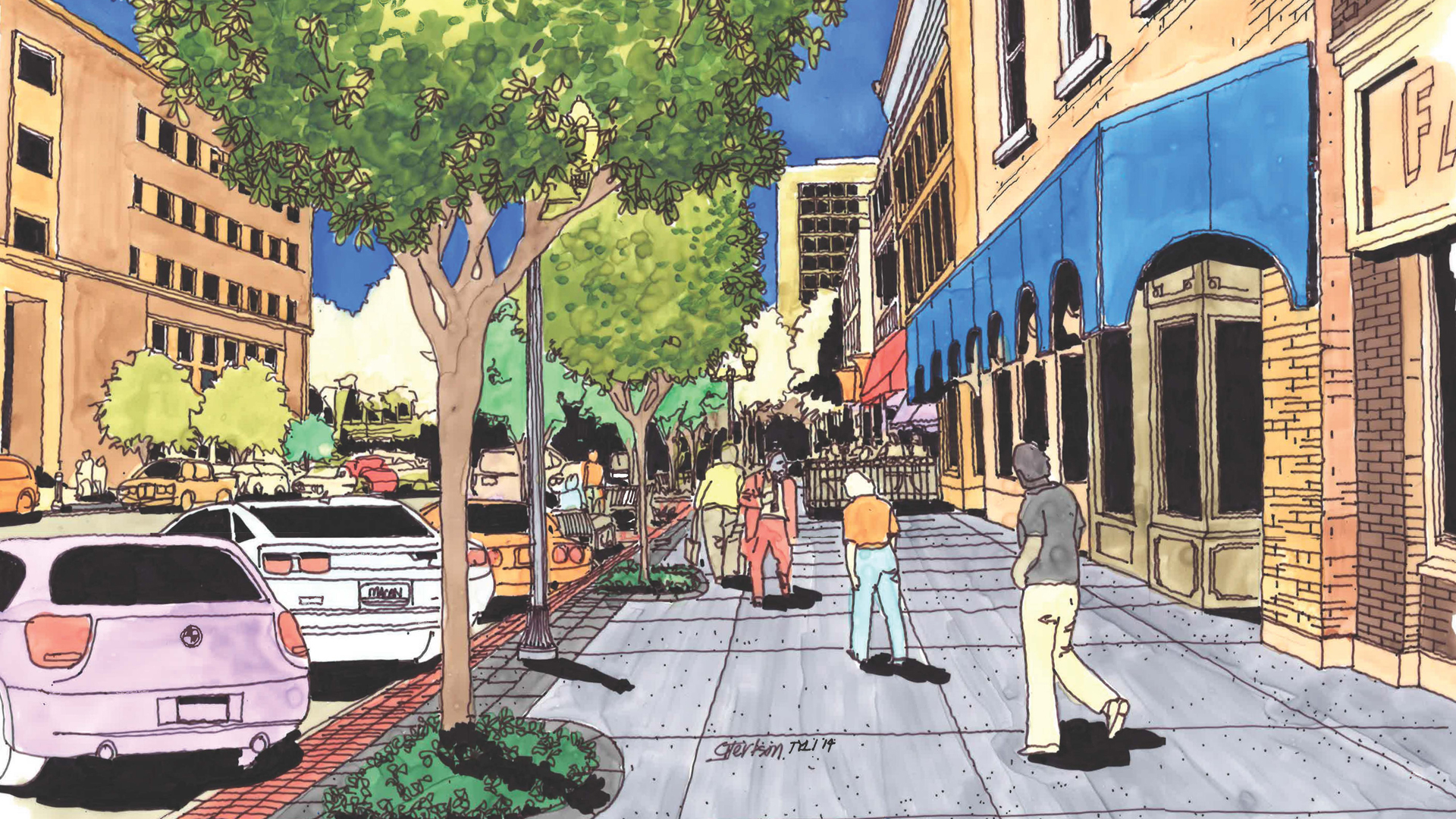 Second Street Vision Block