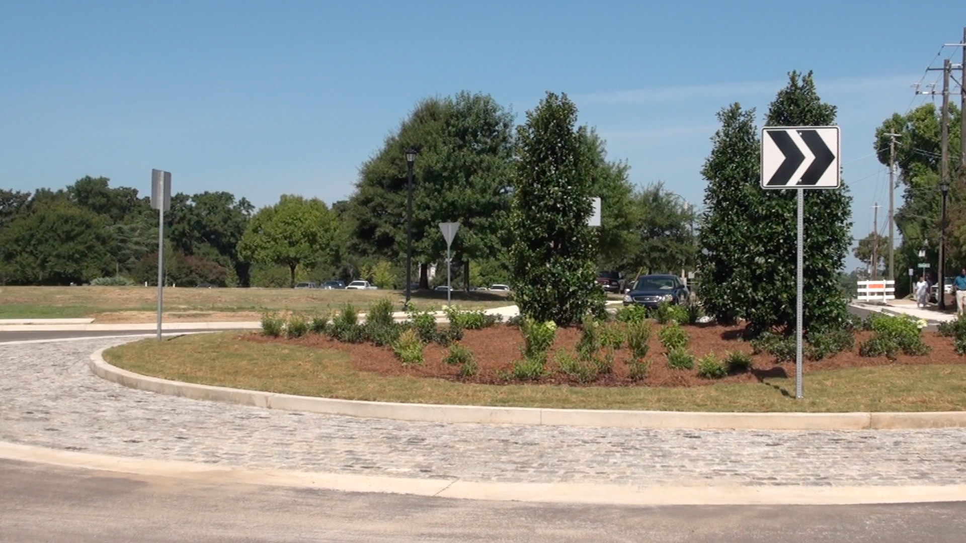 Macon-Bibb's First Roundabout