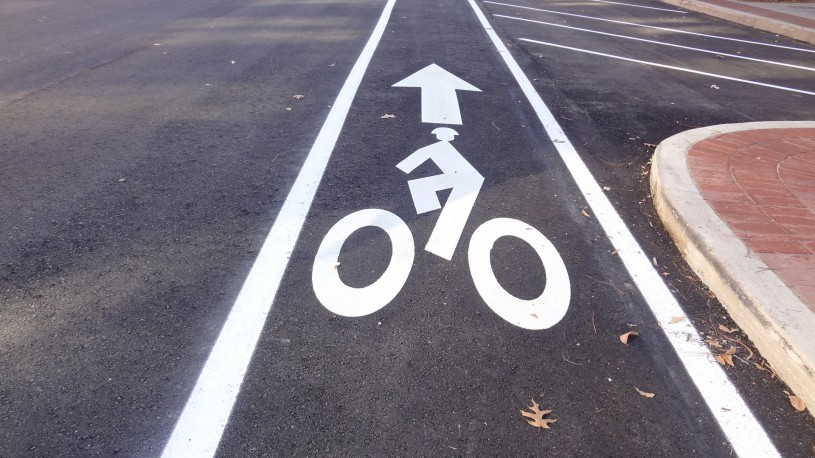 Second Street Bike Lane