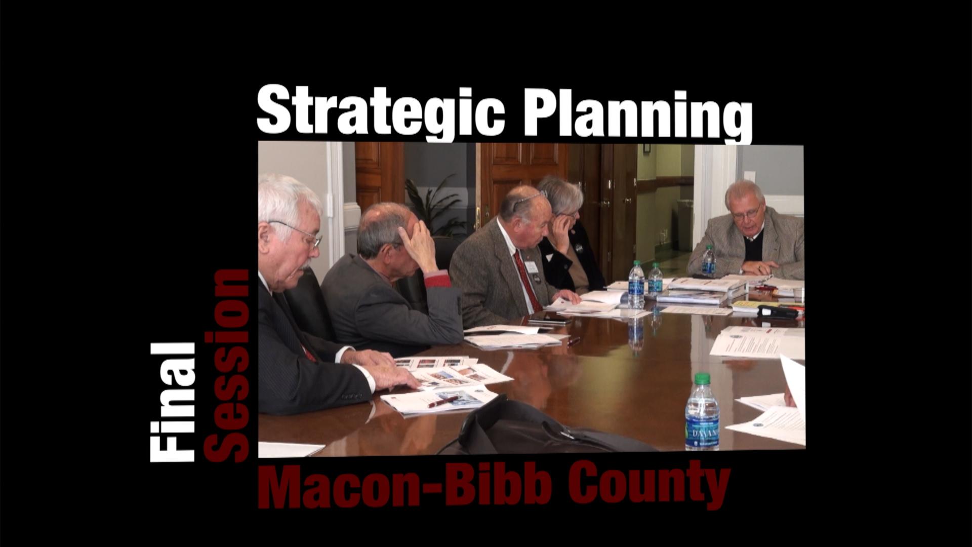 Final Strategic Planning Session