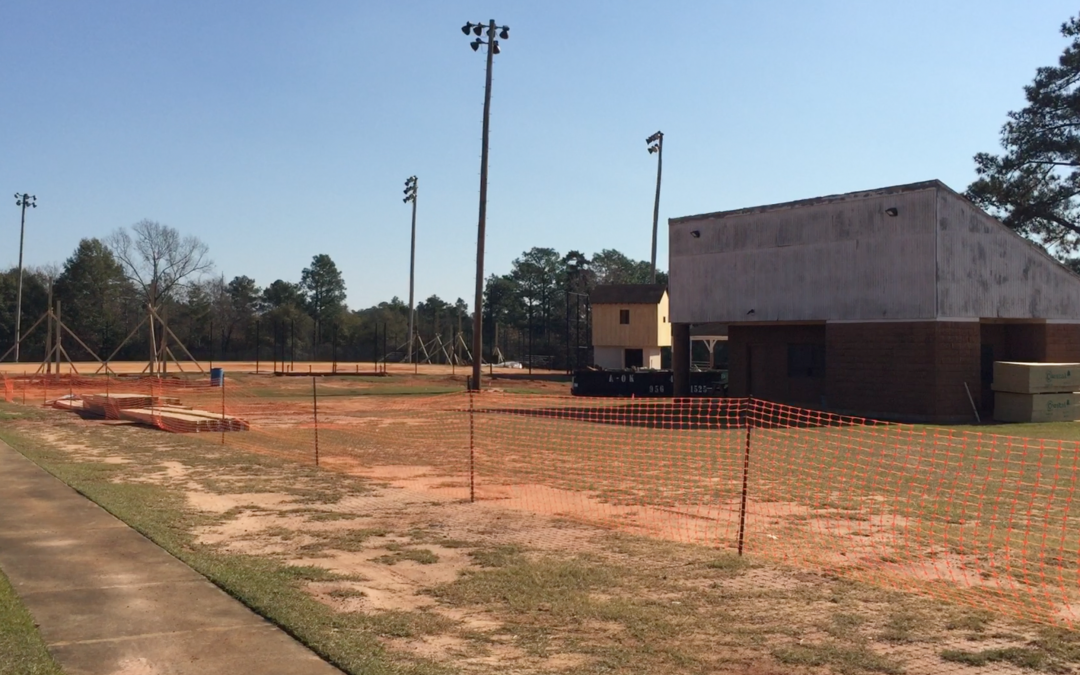 Work begins on major East Macon Park upgrades