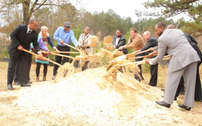 Community breaks ground on Filmore Thomas Park