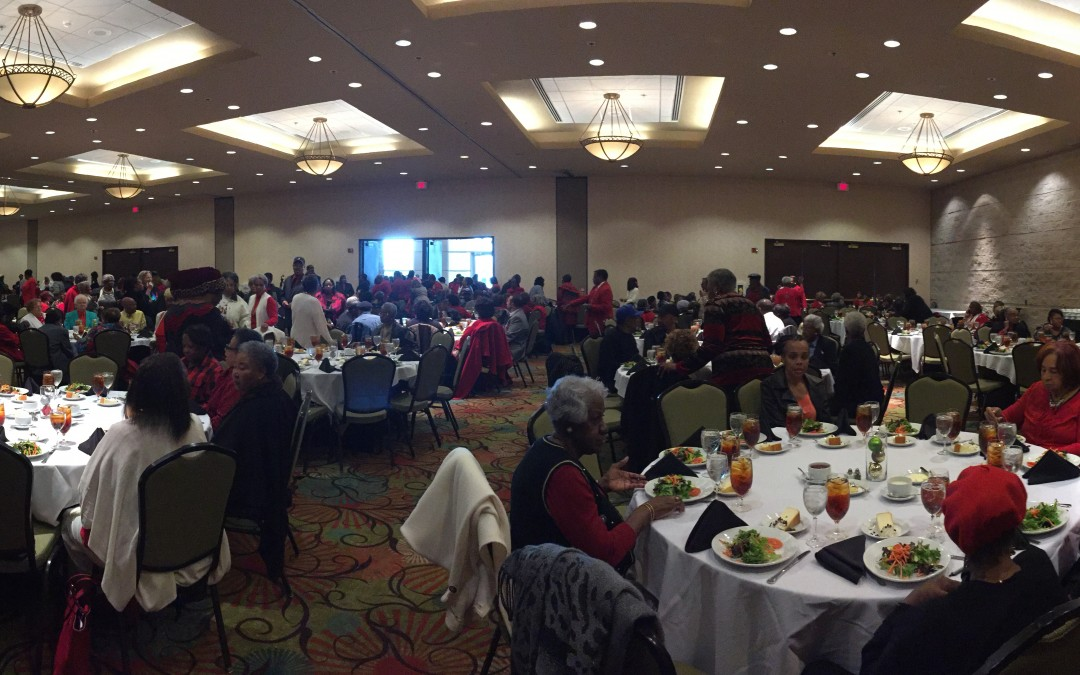 Macon-Bibb celebrates Christmas with senior citizens