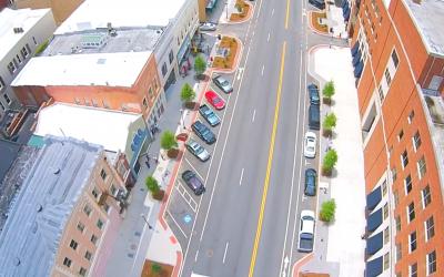 Second Street Corridor – Transportation
