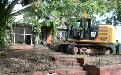 Demolition by Neglect- 125th House Razed
