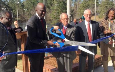 Newly renovated John Drew Smith Tennis Center opens