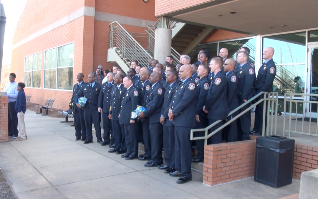 Promotion gauntlet sees dozens of new leaders in the Macon-Bibb Fire Department