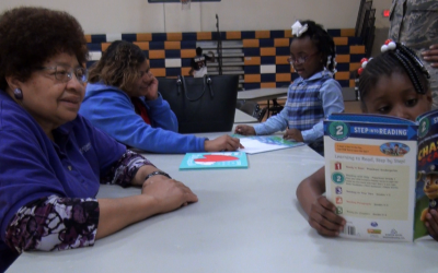 'Reading Rocks' pairs kids with books, community leaders
