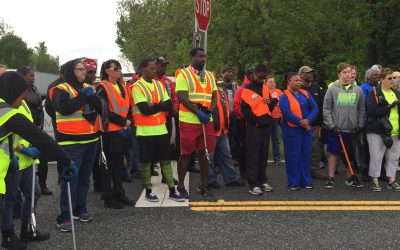 Macon-Bibb, Warner Robins meet in the middle for Great American Cleanup