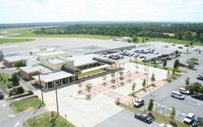 Student leaders learn about Middle Georgia Regional Airport's economic impact