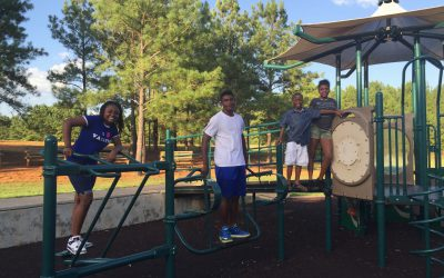 Parks Departments celebrated with family day at Amerson Park