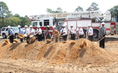 New fire station under construction in East Macon-Bibb