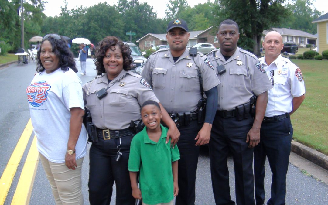 Neighbors, law enforcement officers connect on National Night Out