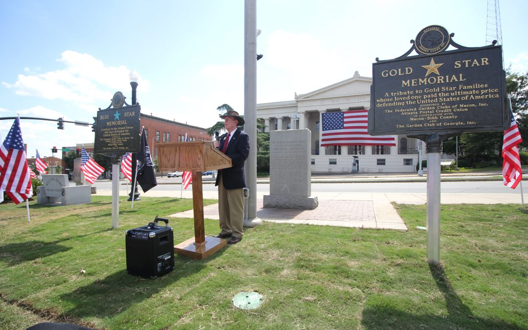 Markers honoring our military members placed in Rosa Parks Square
