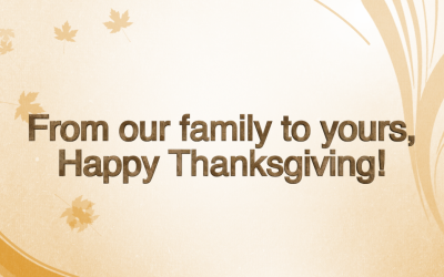 Happy Thanksgiving from Macon-Bibb County!