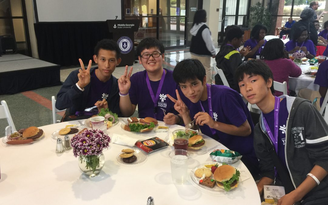 Students from Georgia, Japan attend third annual Youth Leadership Summit
