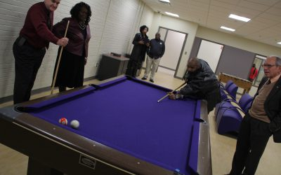 Commissioner shares personal connection to upgraded Memorial Park Recreation Center