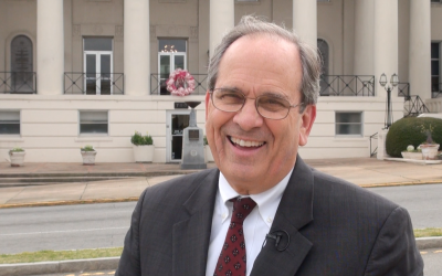 Mayor Reichert shares excitement for Cherry Blossom time