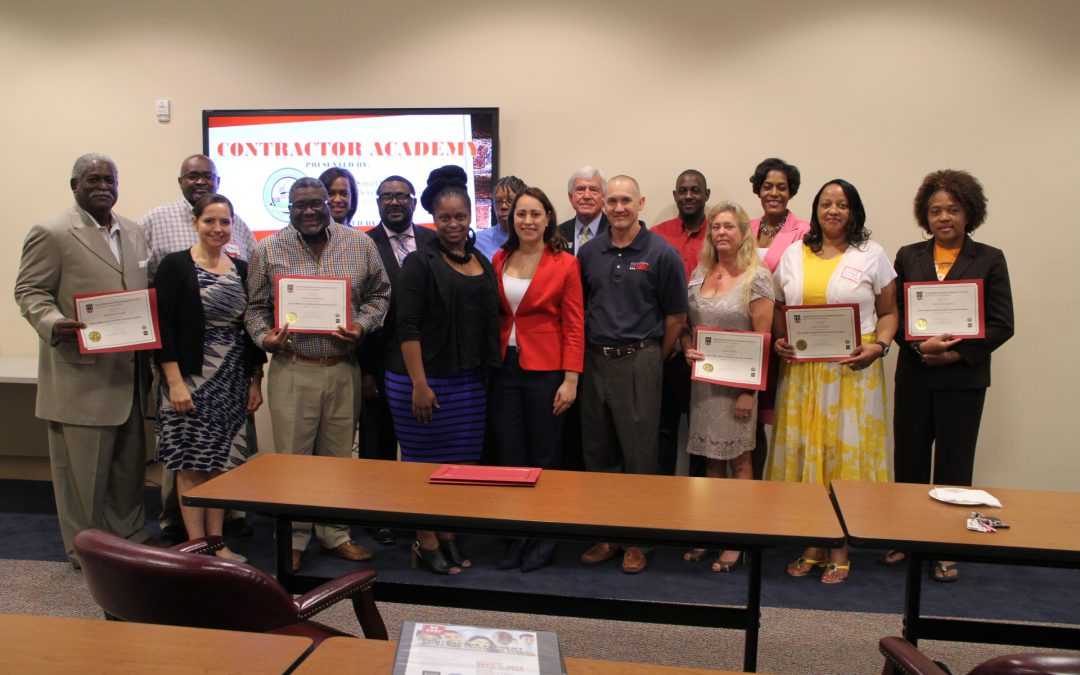 Macon-Bibb business owners graduate from first Contractors Academy