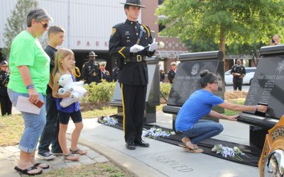 Honoring Deputy TJ Freeman on Peace Officers Memorial Day