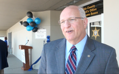Bibb County Sheriff thanks those involved in opening new annex