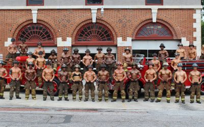 The meaning behind the muscle: firefighter calendars on sale now!