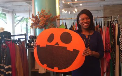 Trick-or-treating in Downtown Macon-Bibb