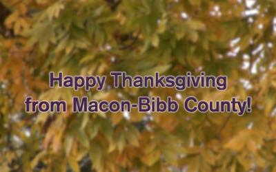 Happy Thanksgiving from Macon-Bibb!