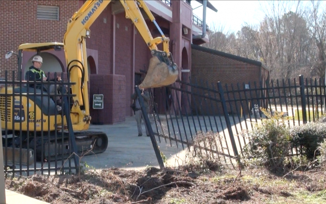 Make way for the Bacon! Luther Williams Field renovations begin