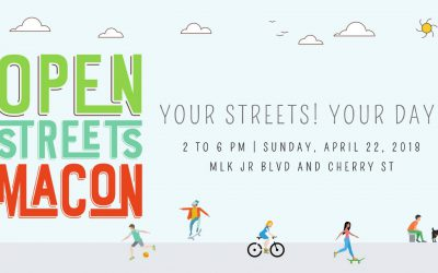 Open Streets Macon on April 22