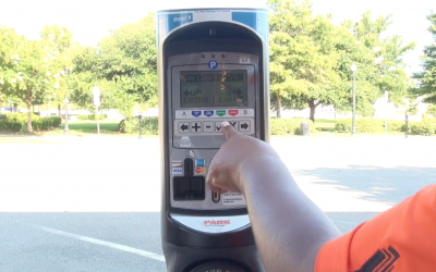 How to use Downtown parking meters