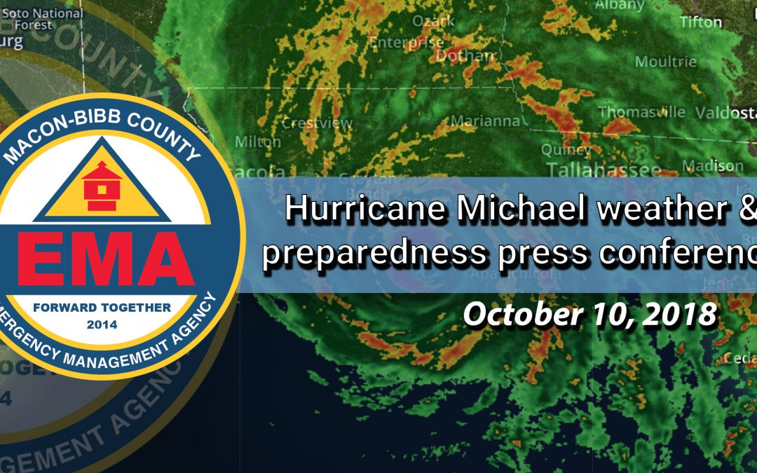 Hurricane Michael Press Conference 10.10.18