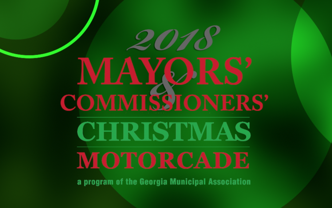 2018 Mayors' and Commissioners' Christmas Motorcade