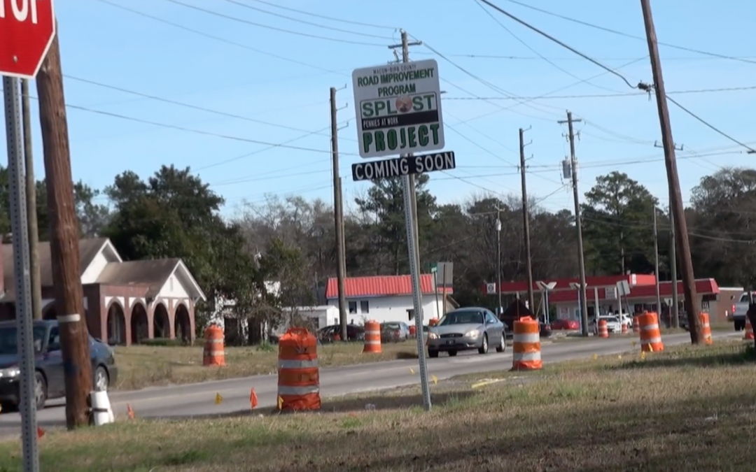 Jeffersonville Road overhaul happening now in East Macon-Bibb