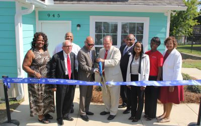 River Edge, Macon-Bibb celebrate new tiny houses for homeless, disabled people