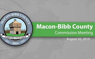 August 20, 2019 Macon-Bibb County Commission Meeting