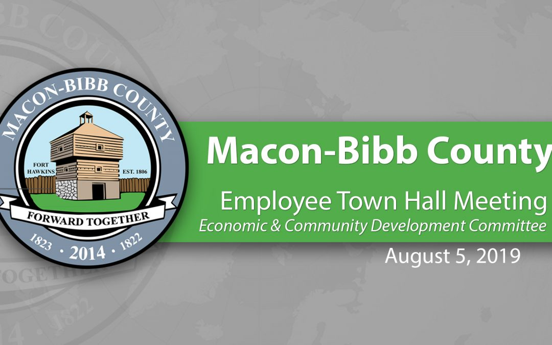 Economic & Community Development Committee holds Employee Town Hall Meeting