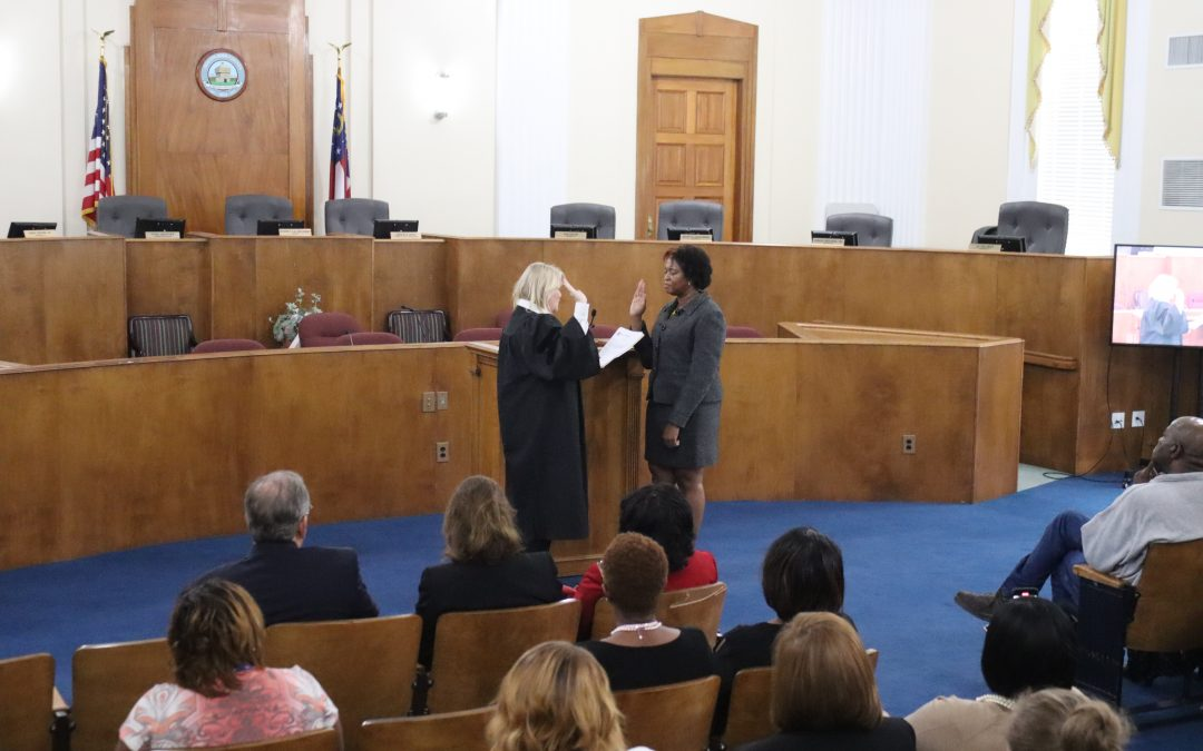 New Municipal Court Judge sworn in