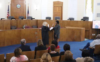 New Municipal Court Judge sworn in