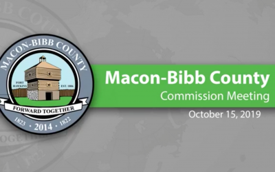 October 15, 2019 Macon-Bibb County Commission Meeting