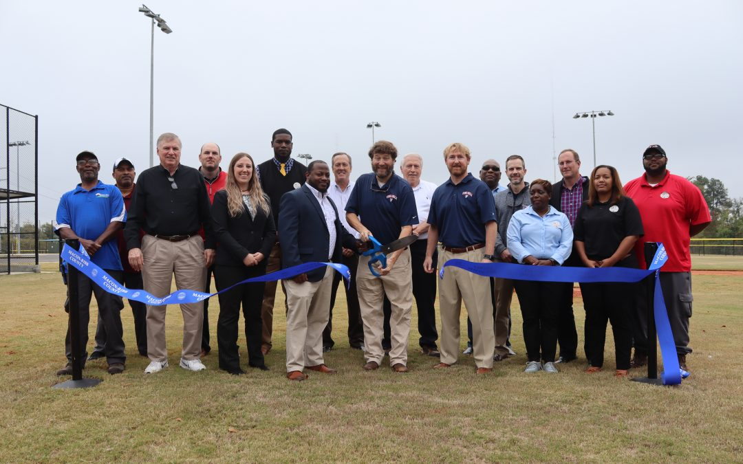 Ribbon-cutting for new fields at Freedom Park
