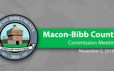 November 5, 2019 Macon-Bibb County Commission Meeting