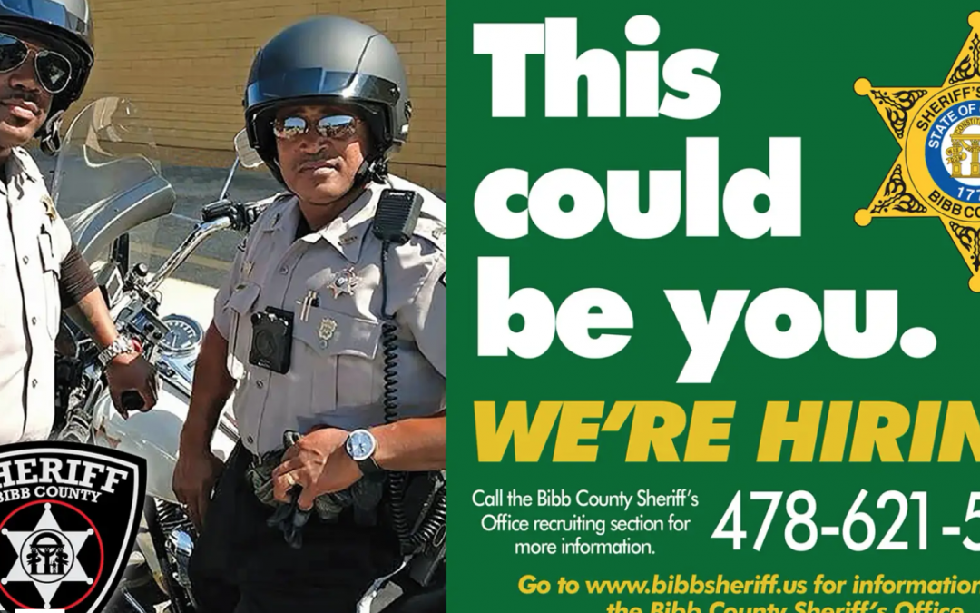 Bibb County Sheriff's Office Hiring Now
