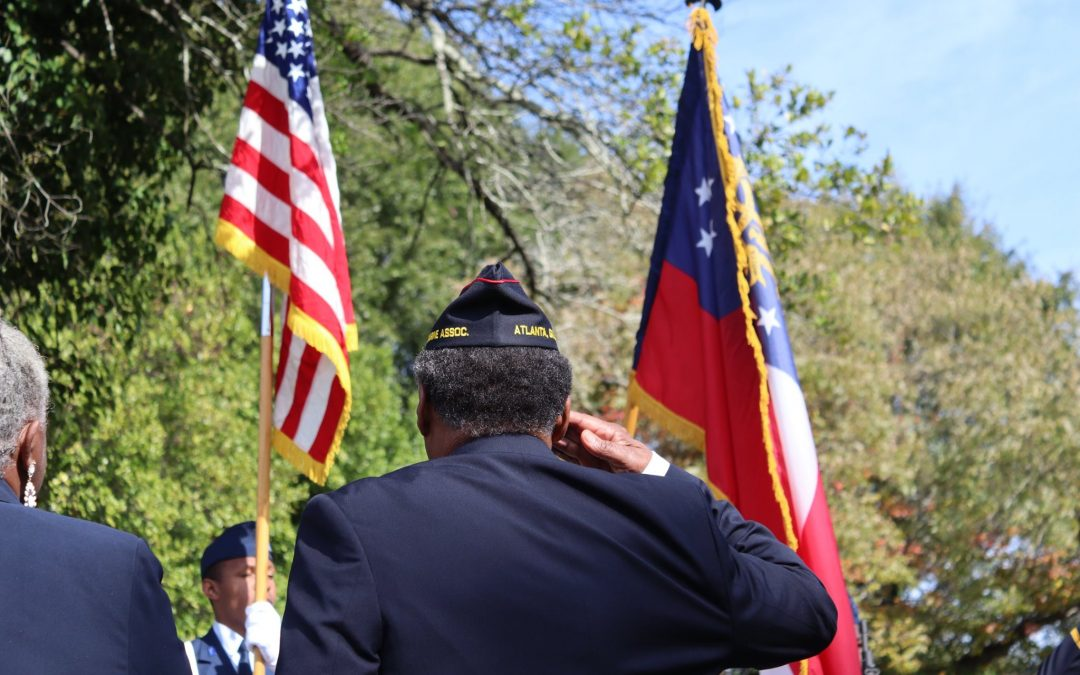 2019 Veterans Day Ceremony at Historic Linwood Cemetery