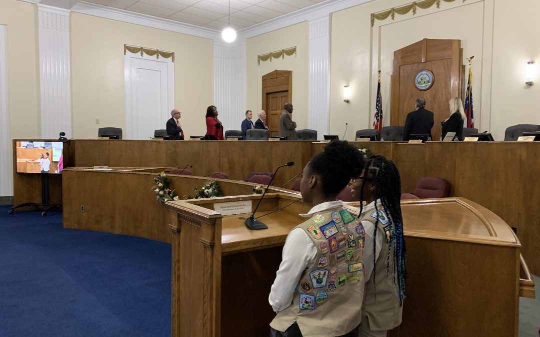 December 3, 2019 Macon-Bibb County Commission Meeting