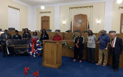 MLK Commission's annual wreath-laying ceremony