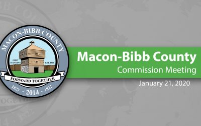 January 21, 2020 Macon-Bibb Commission Meeting