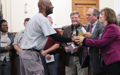 Facilities Management employees recognized for 461 years of combined service