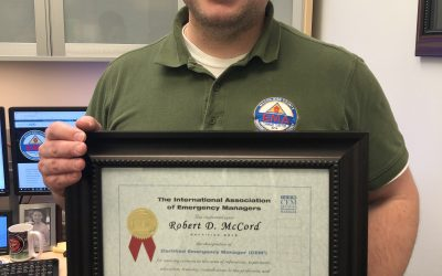 EMA Deputy Director earns international Emergency Manager Certification