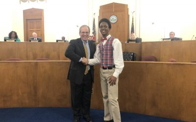 MLK Commission Oratorical Contest Winner & Black History Month Proclamation